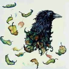 印花矢量图 艺术效果 水彩 动物 鸟 免费素材