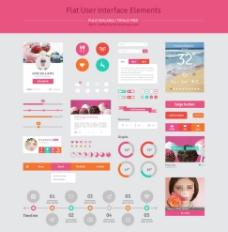 浪漫UI界面图片