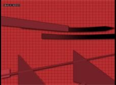 红色栅格视频素材