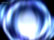 蓝白光效展示