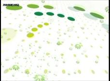 绿色斑点动态视频素材