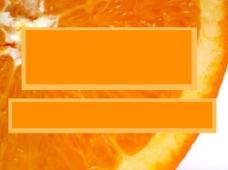 橙色背景PPT模板