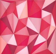 三角形的红色背景图片
