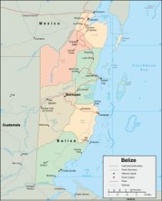伯利兹城地图