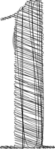 手绘字体矢量插画