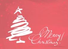 圣诞卡矢量模板
