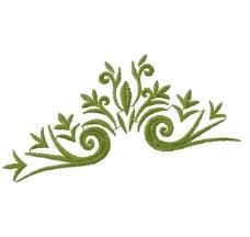 绣花 植物图案 花 花边 高清 免费素材