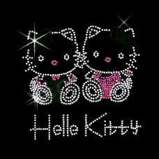 烫钻 动物 猫 hello kitty 免费素材