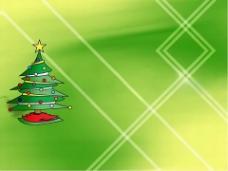 圣诞精品绿色PPT模板