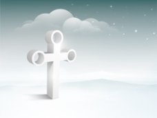 星期五的背景与宗教基督教的十字架