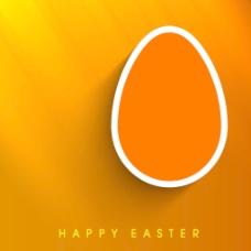 复活节快乐的背景或卡具有创造性和装饰蛋