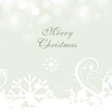 美丽的雪花背景圣诞庆典