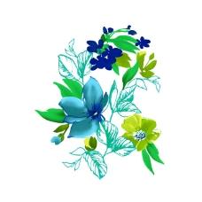 位图 植物 写意花卉 花朵 野花 免费素材