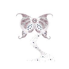 烫钻 动物 蝴蝶 免费素材