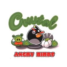 位图 可爱卡通 卡通形象 卡通动物 愤怒的小鸟 免费素材