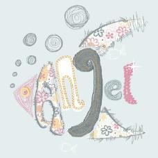 印花矢量图 T恤图案 图文结合 动物 鱼 免费素材