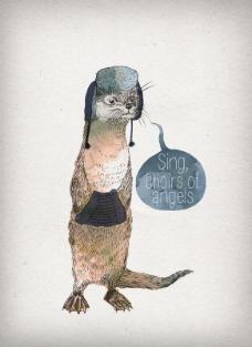 位图 插画 动物插画 插画师 David 免费素材