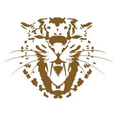 印花矢量图 T恤图案 野生动物 凶猛动物 头像 免费素材