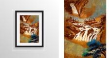山水风景绘画艺术