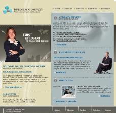 商业合作交易平台网页模板