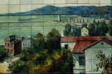 居民区风景壁画
