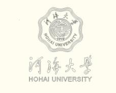 河海大学校徽CAD图图片