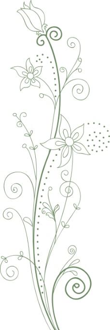 全球花纹图案 边框饰角 装饰图案 分层素材 psd源文件