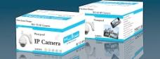网络摄像机包装盒(展开图)图片