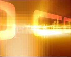黄色光效动态视频素材
