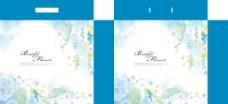 蓝色花藤图片