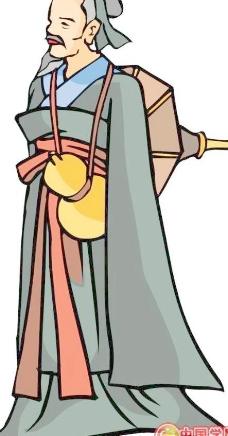 古代漫画人物图片女生