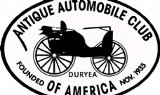 Antique_Auto_Club_of_America logo设计欣赏 Antique_Auto_Club_of_America汽车标志大全下载标志设计欣赏
