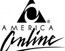 America Online logo设计欣赏 美国在线标志设计欣赏