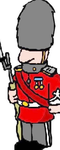卡通大兵军人