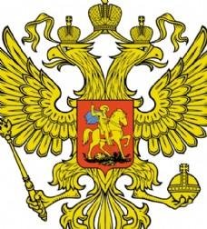 Russian DblHead Eagle logo设计欣赏 俄罗斯DblHead鹰标志设计欣赏