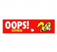 Oops__Express(1) logo设计欣赏 Oops__Express(1)汽车logo图下载标志设计欣赏