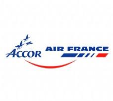 Accor___Air_France logo设计欣赏 Accor___Air_France航空公司标志下载标志设计欣赏