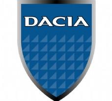 Dacia(2) logo设计欣赏 Dacia(2)矢量汽车标志下载标志设计欣赏