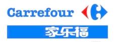 矢量家乐福超市标志(一)