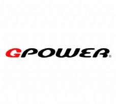 Gpower logo设计欣赏 Gpower矢量名车标志下载标志设计欣赏