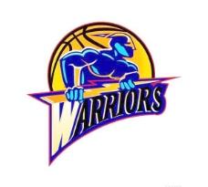 矢量金州勇士队标志Golden State Warriors