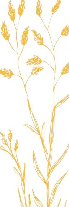 卡通花瓣矢量图