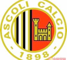 矢量阿斯科利ASCOLI calcio标志