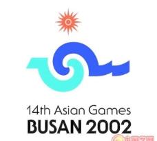 矢量2002韩国釜山亚运会会徽