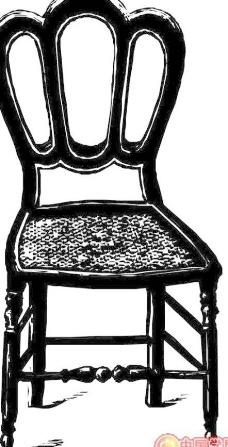 家具矢量椅子凳子