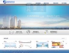 网络科技公司页面设计图片