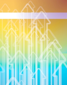 彩虹矢量背景