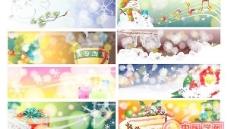 8款经典圣诞节banner