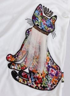 钉珠 小猫 皇冠 免费素材