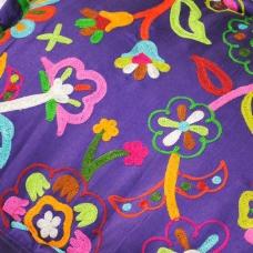 绣花 花朵 花纹 免费素材